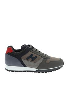 Hogan - H321 sneakers in gray and blue
