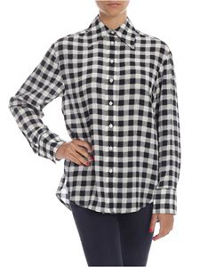 Michael Kors - Check shirt in white and black
