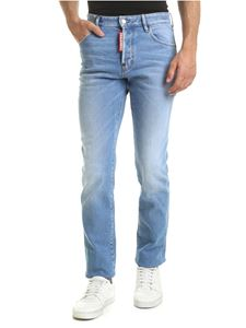 Dsquared2 - Jean Mercury jeans in light blue