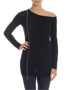 N° 21 - Pullover in black with rhinestone profile