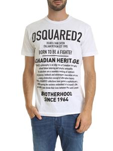 Dsquared2 - Canadian Heritage T-shirt in white