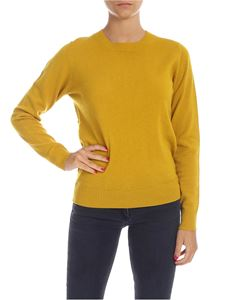 Aspesi - Wool pullover in mustard color