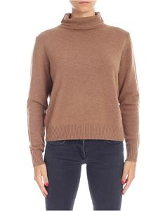 Aspesi - Wool pullover in camel color