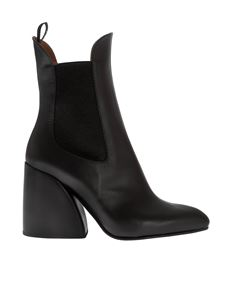 Chloé - Wave Chelsea boots in black