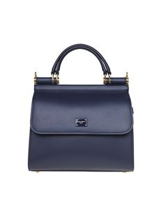Dolce & Gabbana - Sicily 58 small bag in blue