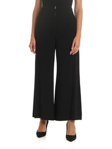 Stella McCartney - Palazzo pants with zip in black