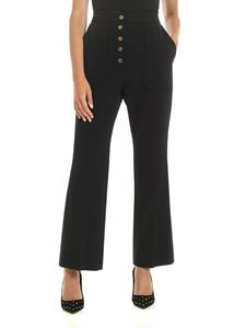 Stella McCartney - Trousers in black with gold buttons