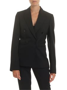 Stella McCartney - Double-breasted jacket in black wool