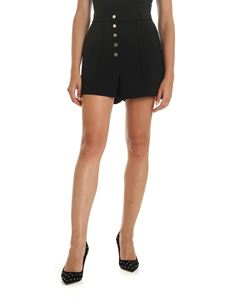 Stella McCartney - Shorts with maxi patch pocket in black