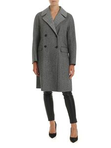 Ermanno Scervino - Chevron and Prince of Wales Check coat