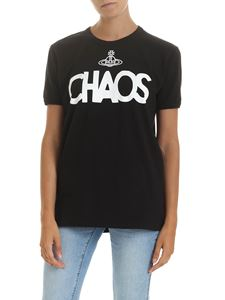 Vivienne Westwood Anglomania - Chaos crewneck t-shirt in black