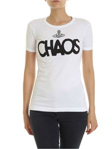 Vivienne Westwood Anglomania - Chaos crewneck t-shirt in white