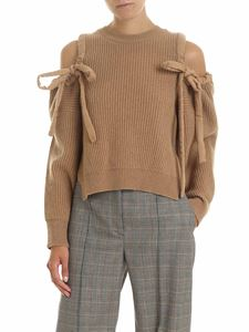 Stella McCartney - Havana Jumper pullover in camel color