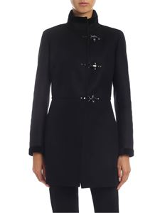 Fay - 3 Ganci coat in black
