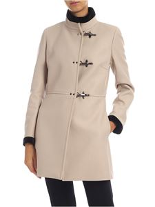 Fay - 3 Ganci coat in beige