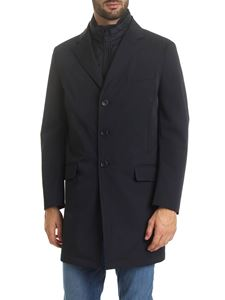 Fay - New Bernard coat in dark blue