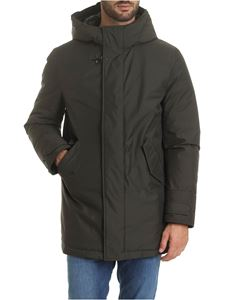 Fay - Army green down jacket with hook
