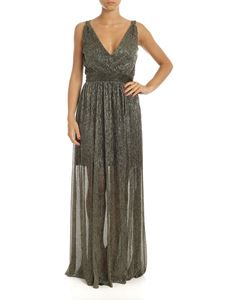 be Blumarine - Long dress in golden lamé