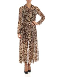 be Blumarine - Animal print shirt dress