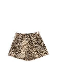 Monnalisa - Animal printed cady shorts