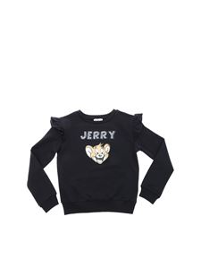 Monnalisa - Jerry sweatshirt in dark blue