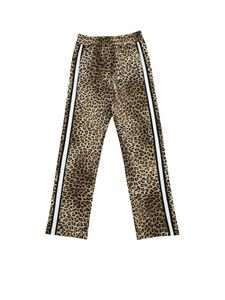 Monnalisa - Animal printed cady pants