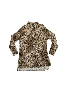Monnalisa - Animal printed oversized shirt