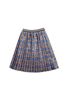 Gucci - GG jacquard skirt in bronze color