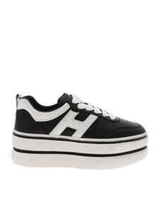 Hogan - H449 sneakers in black and white