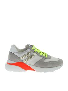 Hogan - Active One H385 sneakers in white and gray
