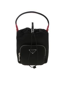 Prada - Nylon gabardine handbag in black
