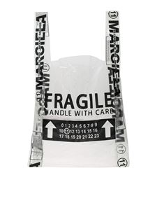 Maison Margiela - Fragile clear shopper bag