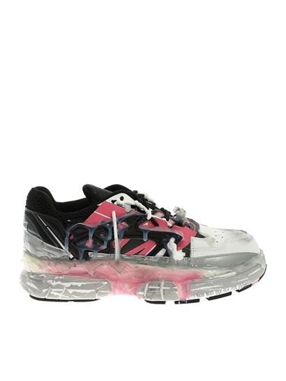 1286acf7cc9 Fusion Low-top sneakers in black and pink
