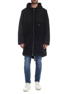 McQ Alexander Mcqueen - Chris Parka with hood in black