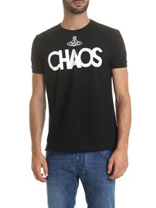 Vivienne Westwood Anglomania - T-shirt girocollo Chaos nera