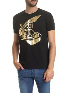 Vivienne Westwood Anglomania - T-shirt girocollo Arm&Cutlass nera