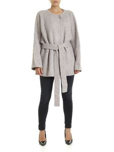 See by Chloé - Fisherman ribs cardigan in grey