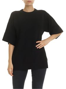 See by Chloé - Pullover in black with cut-out