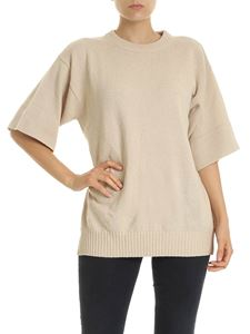 See by Chloé - Pullover in beige with cut-out
