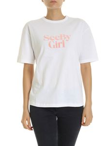 See by Chloé - See-Girl T-shirt in white