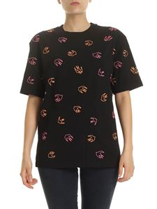 McQ Alexander Mcqueen - Mini Swallow T-shirt in black