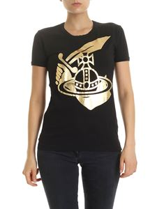 Vivienne Westwood Anglomania - Arm & Cutlass crew-neck t-shirt in black