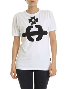 Vivienne Westwood Anglomania - Orb T-shirt in white