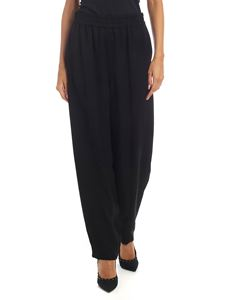 See by Chloé - Wide leg trousers in black