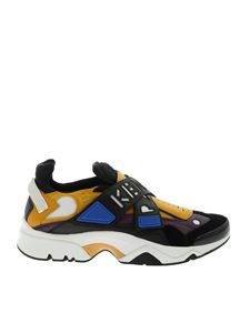 Kenzo - Sneakers Sonic Scratch nere e gialle