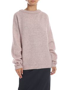 Acne Studios - Dramatic Moh pullover in pink