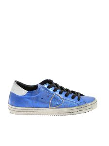 Philippe Model - Classic Met sneakers in electric blue