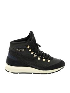 Philippe Model - Ginn sneakers in black leather