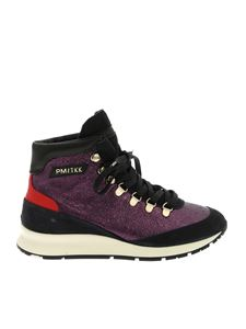 Philippe Model - Ginn sneakers in purple leather