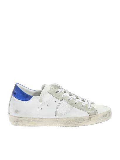 Philippe Model - Classic sneakers white and blue